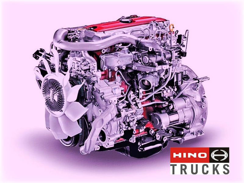 Моторы от Hino Motors